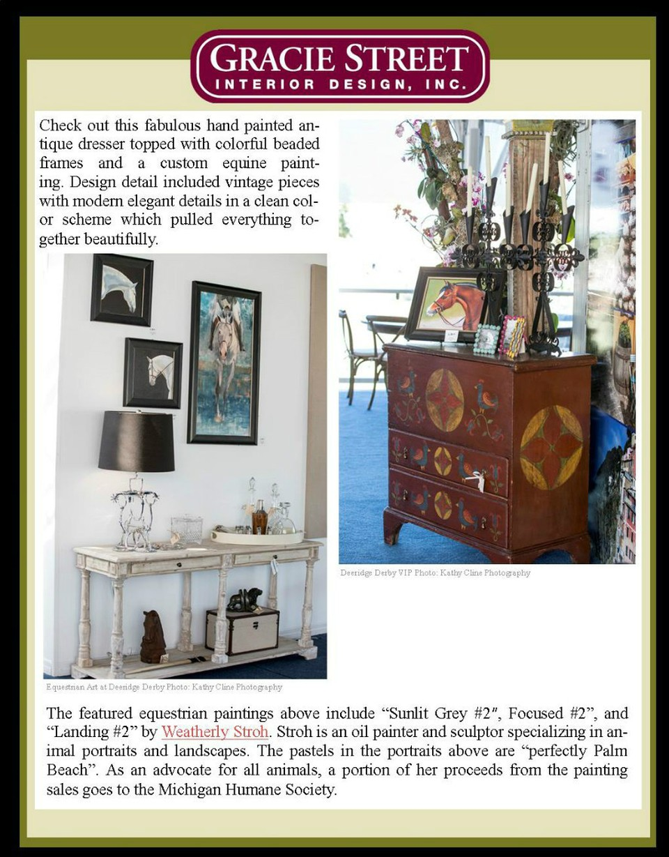 Gracie Street Interior Design Studio Boutique Portfolio Recent Press
